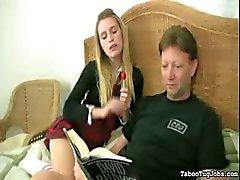 Chanteerde vader voor lul spelen