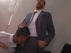 Principal Andres enjoys punishing the errant schoolboy.