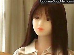 Üvey babası tarafından becerdin genç japon kızı