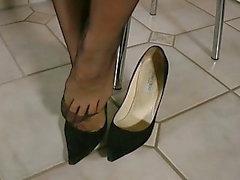 Shoeless мой красивый jimmy choo высокие каблуки
