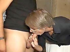 Francesi matura Sophie in doppia penetrazione