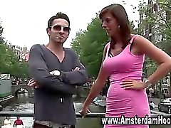 Holländsk reala prostituerade knullas turisten