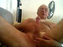 La plata wank Grandpa el pecho y leche