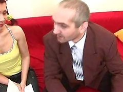 Threesome mit alten Lehrer Lektion