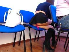 Video amateur masturbación pública