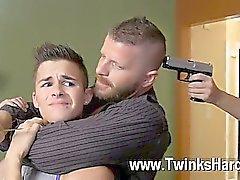 Gay Porn Andy Taylor , Ryker Madison , et le de Ian Levine eu 3 lil hustlers
