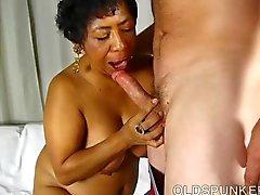 Super sexy reife schwarzen Dicke Frauen ist ein sehr heissen Fick