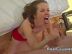 Kopplar ihop filmade att ha könet för denna webkamera chatt