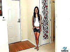 étudiante Philippins Beauté Lana Violet