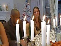 Hardcore diner kerst orgie