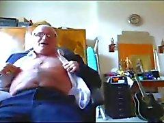 Adecuado el abuelo Semen en los pantalones