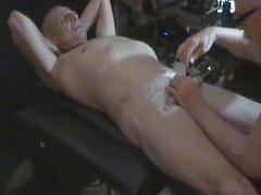 SL-кожа делает бритье тела на моем друге ROXX-39