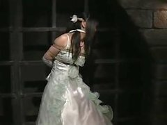 Japanese Bride in Bondage Dungeon