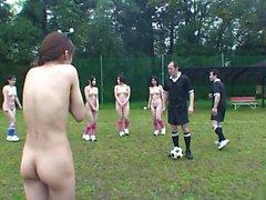 Jälkeen alasti jalkapallopeli suihin on paras