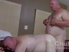 Fat daddies fucking bareback