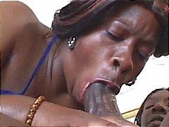 BBBW chupa seu grande galo antes que ela é martelado por ele