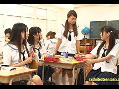 Jav Idol Schoolgirls scopare da Masked