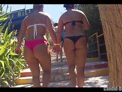 Big Butt Thongs Bikini Sexy Latinas Beach Voyeur Nahaufnahme