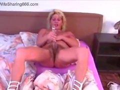 Kåta blond makans suger och knullar ett BBCEN in LA Hotell