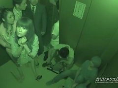 Bloccato in ascensore Maika e Aoi Miyama - Altro caribbeanco