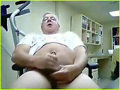 del abuelo masturbar