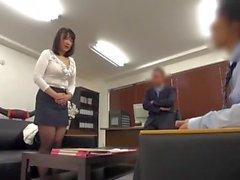 Japanin Office Ladies Big Tits Punished & Humiliated virheistä # 2