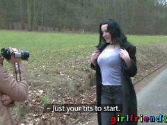 Namoradas Euro lésbicas bebês lambendo sugando goles adolescentes apertados