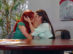 Taylor Vixen and Jayden Cole do it in the conference room