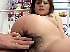 Pregnant oriental getting fingered
