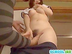 Satomi befindet groß langer Penis