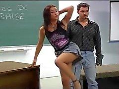 Pornotähti aiheesta Academie 2 osa 2.