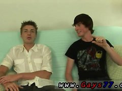 Películas de twinks gay flacas traviesas azotado Ashton y Jase son