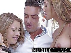 NubileFilms - Amateur Teenager und College-Babes heißen Dreier