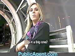PublicAgent Sindy ist fast zu hoch steht ficken