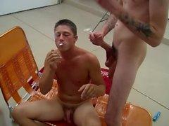 Rad / Dustin / Wesley / Preston - Twinks Rauchen 4-Way