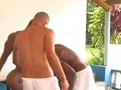 för capoeira för threesome