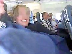 Испанский вдвоем сумасшедший Мастурбация в самолете ( удивительная )