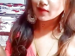 Desi Beautiful Girl Facebook Live