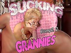 Heißer Grannies Sucking Schwänze Kompilation 2