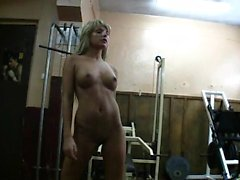 Hot Blonde Babe Masturboi