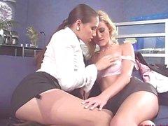 Carli Banks sowie Celeste Star lesbischen