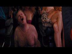 Il lupo a Wall Street aereo Aereo scena di sesso
