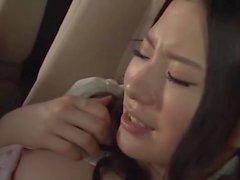 Japanisches hübsches Mädchen