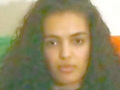 Tunesische Arabische Mädchen