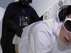 Darth Vader fickt Prinzessin Leia