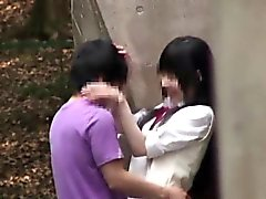 Delle scolare giapponese che scopano Pubbliche