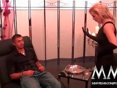 MMV Films Blondine deutschen Milf gerne gutes Sexual