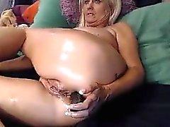 Fett Blond Granny Dummköpfe Around