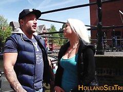 Amsterdam hooker fingered
