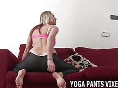 My ass looks amazing in these yoga pants JOI